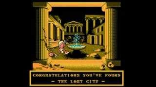 Digger, The Legend of the Lost City : Boss Battle and Ending