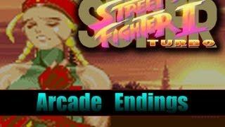 Super Street Fighter 2 Turbo : All Endings