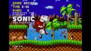 Knuckles in Sonic the Hedgehog: Ending