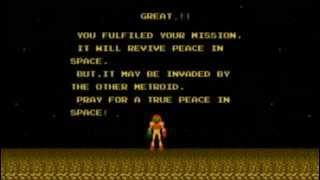 Metroid - Map View  : Ending
