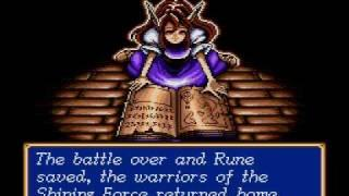 Shining Force : Ending