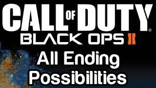 Call of Duty - Black Ops 2: All Endings
