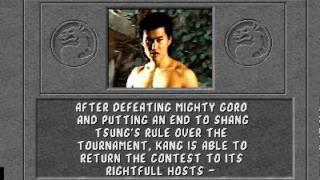 Mortal Kombat 1 : Endings