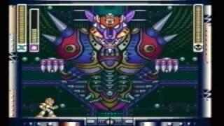Mega Man X : Boss and Ending