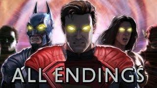 Injustice - Gods Among Us: All Character Endings