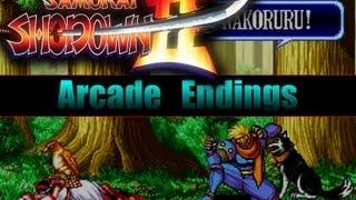 Samurai Showdown 2 : All Endings