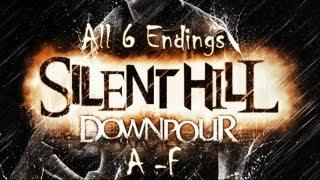 Silent Hill - Downpour: All 6 Endings