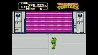 Teenage Mutant Ninja Turtles 2: Ending